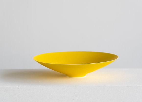 Porcelain Bowl, Vivid Yellow