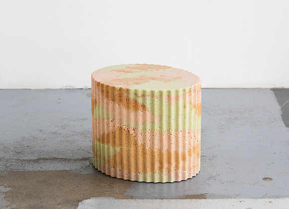 Corrugated Block Table