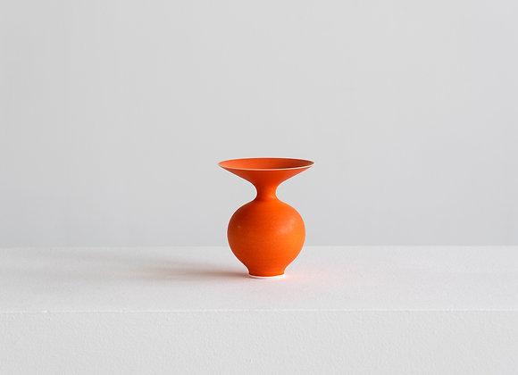 Porcelain Vase, Orange