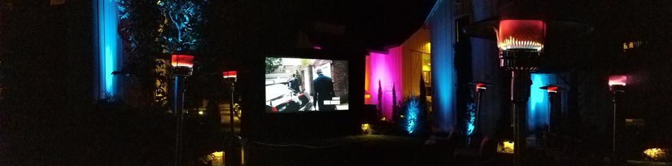 Farmhouse Inn Outdoor Movie