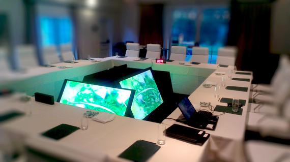 Modern Board Meeting
