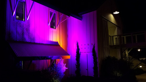 Atmospheric Lighting at the Farmhouse Inn