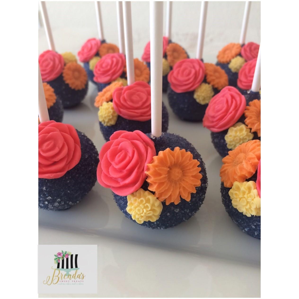 fiesta inspired cakepops