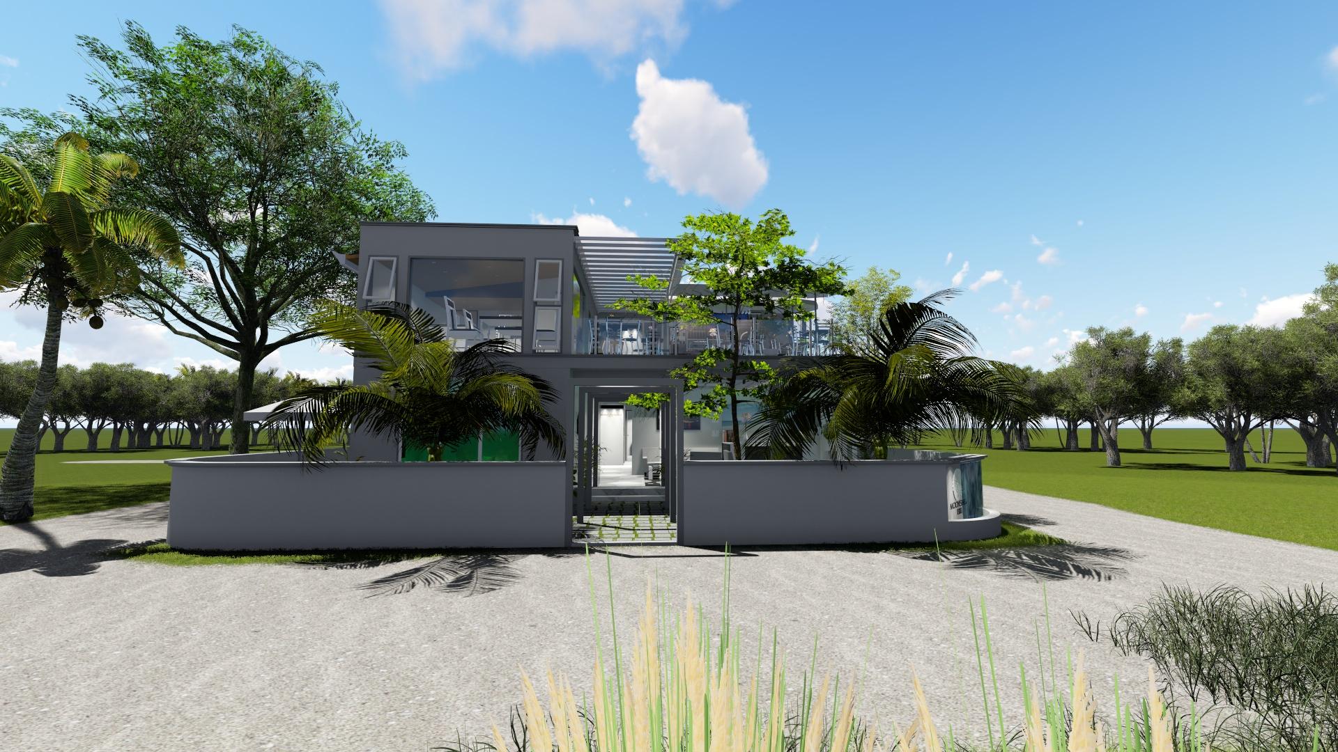 Moonshell Residence