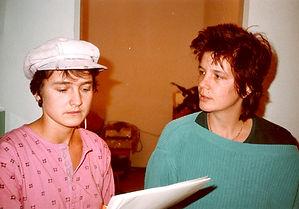 Kathrin Berg und Marlies Müller