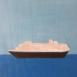 """Cruise, 10""""x10,"""" Jeni Stallings, 2021."""