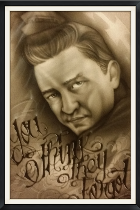 Johnny Cash You Think -Artist Sean S