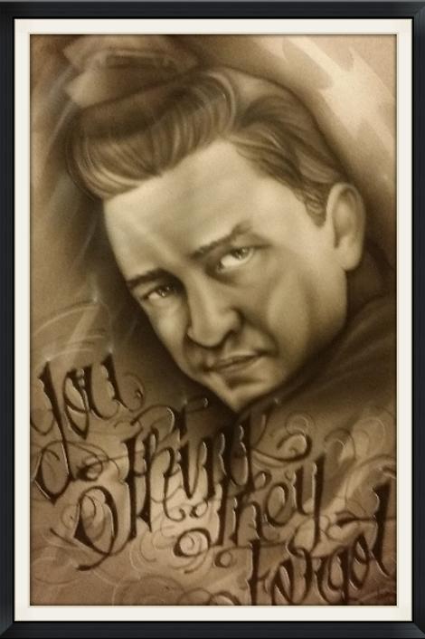 Johnny Cash You Think -Artist Sean S
