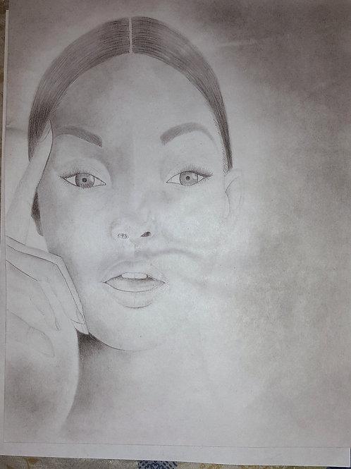 Portrait of a Woman - C009