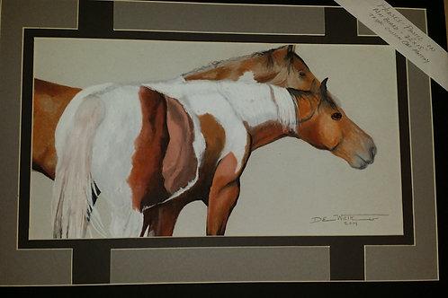 """Horses-Artist """"Darrel W"""""""