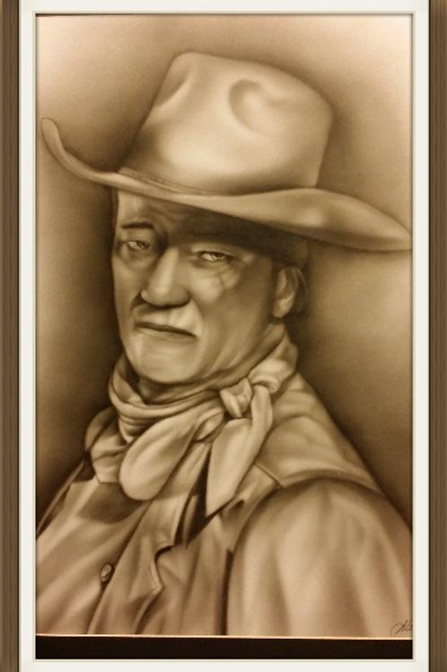 John Wayne Air brushed-Artist Sean S