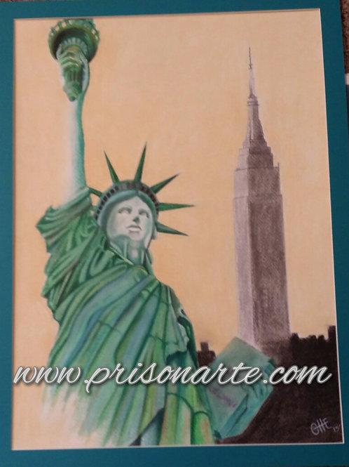 Miss Liberty - Artist Che