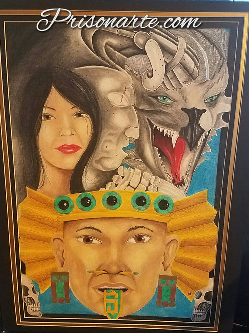 "Aztec/Mayan History- Artist ""Che"""