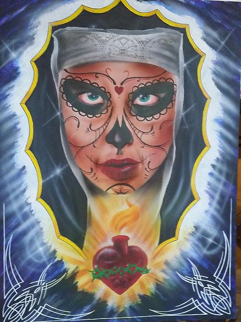 Old School Girl-Artist Che