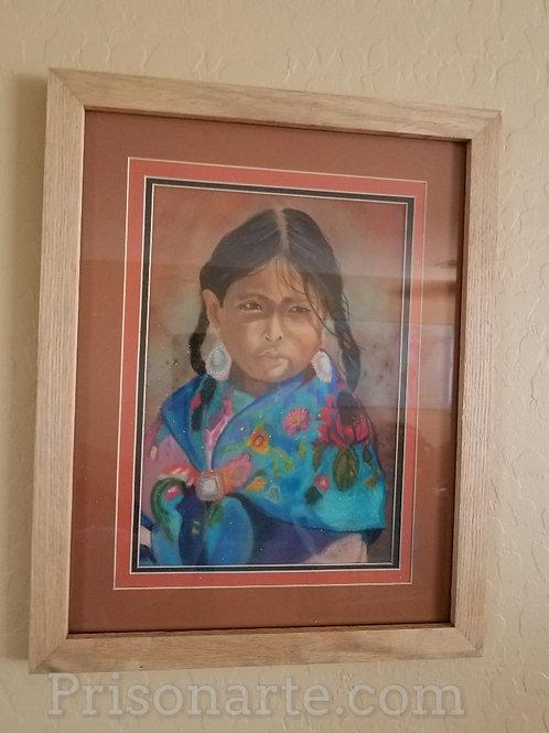 Native Girl 3 - by Walker