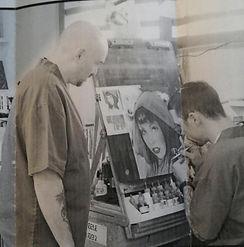 Founders of Prisonarte at work
