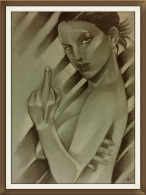 F Girl Air Brushed-Artist Sean S