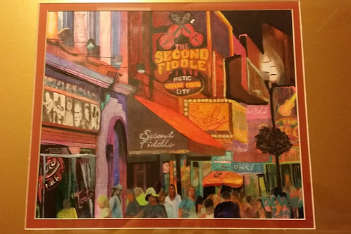 "Nashville's Second Fiddle 2013-Artist ""Darrel W"""