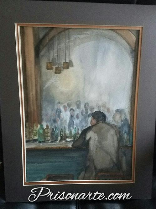 "Ghosts in the Mirror- Artist ""Walker"""