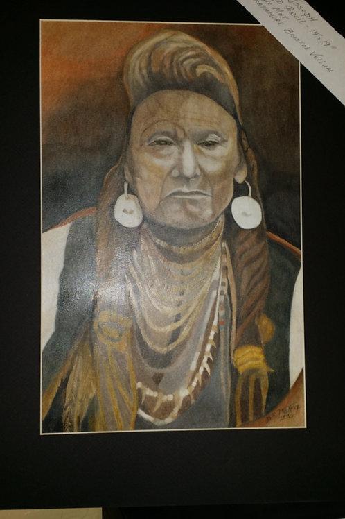 "Chief Joseph-Artist ""Darrel W"""