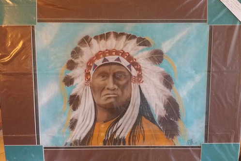 """Chief Red Cloud-Artist """"Che"""""""