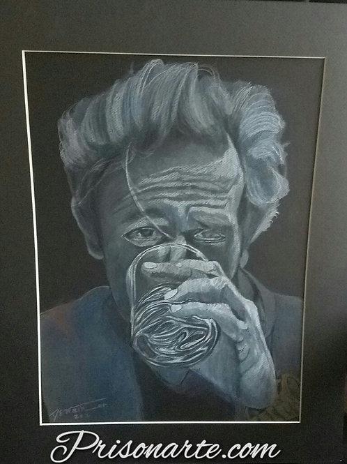 """Self Portrait - Artist """"Walker"""""""