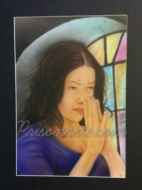Prayer Woman-Artist Sean S