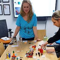 BrickSmart LEGO Serious Play session