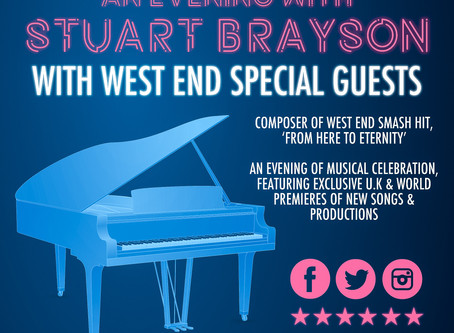 An Evening with Stuart Brayson - a success!