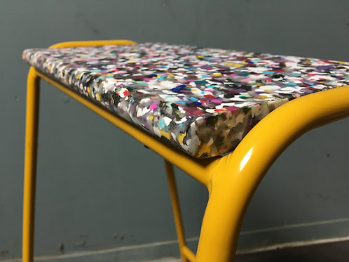 Pill Stool - Recycled - YELLOW