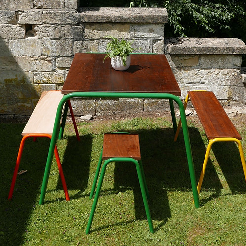 'Monty Table' Emerald Green