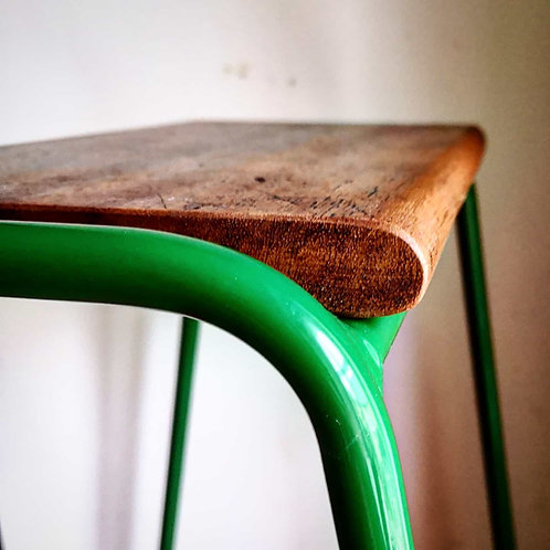 Pill Stool -Emerald Green