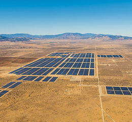 Solar park in California - PenSam