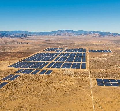 Solar park in California - PenSam