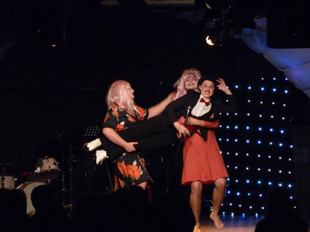 Two Ladies - Cabaret for Cancer Evening