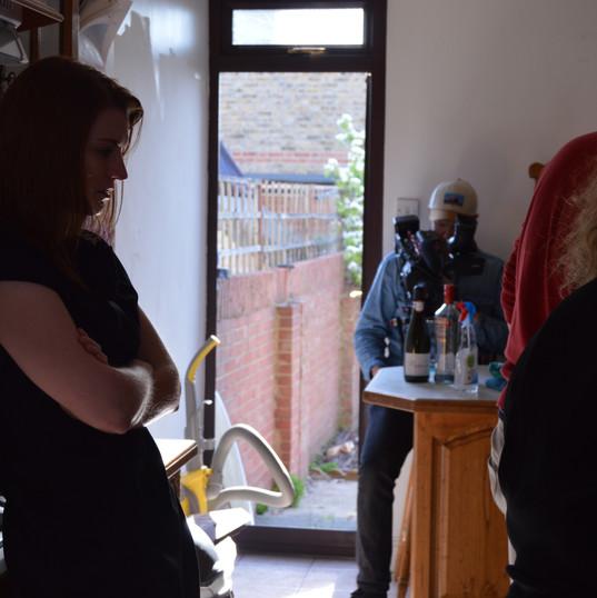 Known Voices kitchen shoot