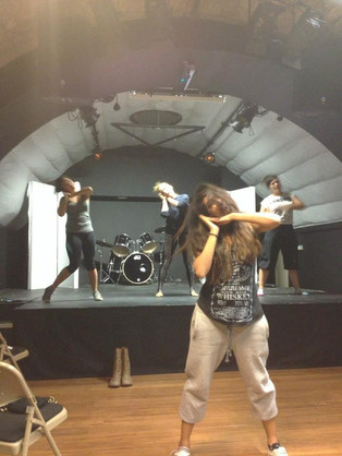 Wings Rehearsals