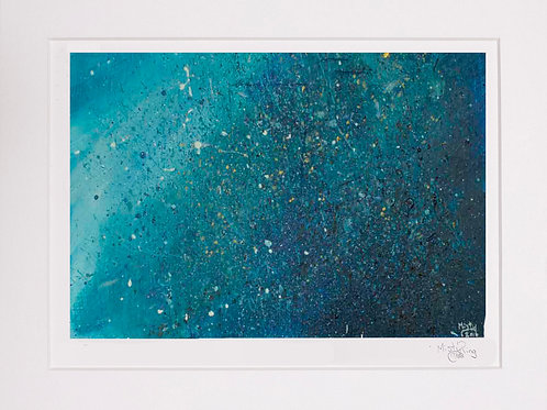 A Piece of Galaxy Limited Edition Print