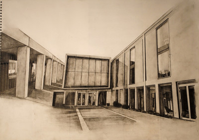 Perspective Drawing (Pencil)