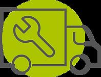 el-kori kuorma-auton kuljetuskorin muutostyöt