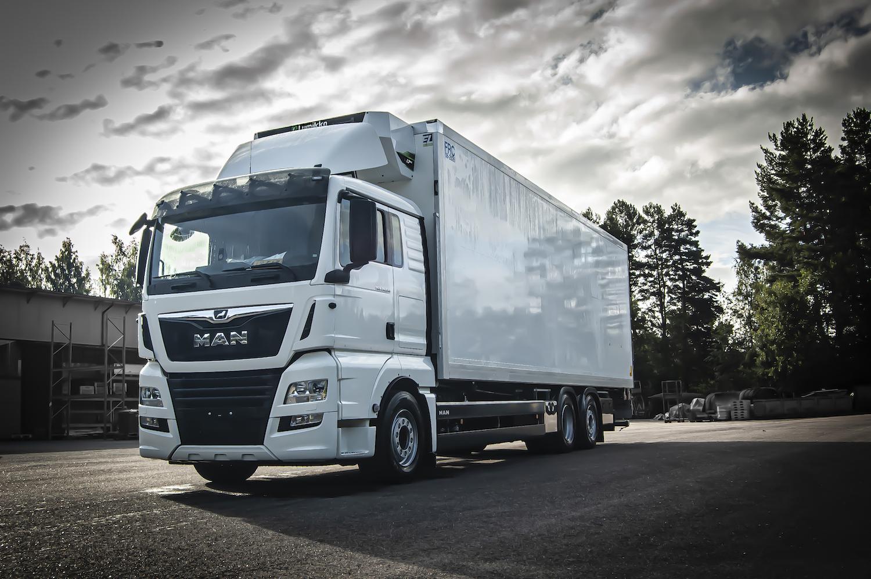 EL-kori kuljetuskori kuorma-auto pakastekori