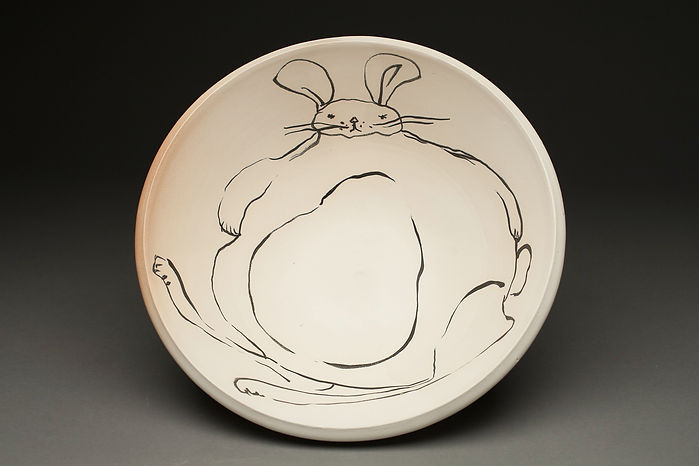 Rabbit Serving Bowl