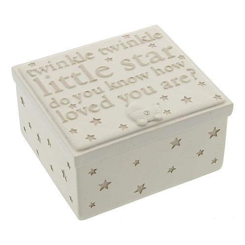 Bambino Resin Trinket Box - Twinkle Twinkle