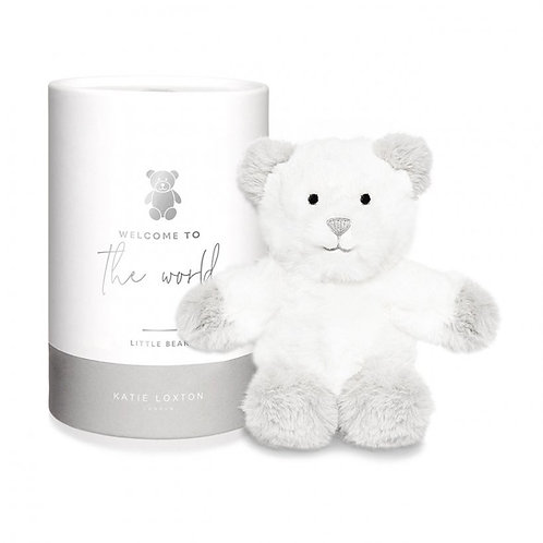 Katie Loxton Welcome to The World Bear Baby Toy