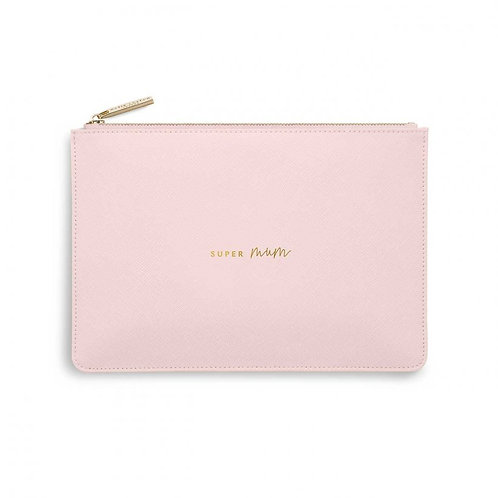 Katie Loxton 'Super Mum' Pink Perfect Pouch