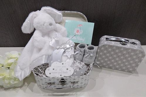 Mini Suitcase Baby Gift Hamper