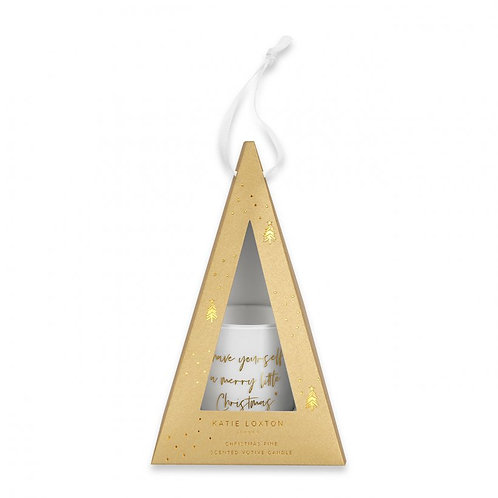 Katie Loxton 'Have Yourself a Merry Little Christmas' Votive Candle