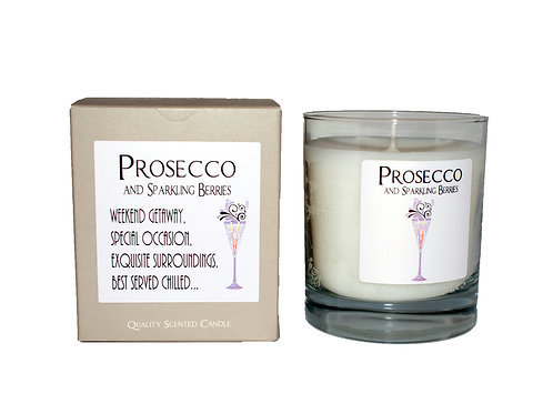 DeKassa Prosecco Sparkling Berries Candle