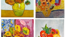 The Sunflowers of Van Gogh