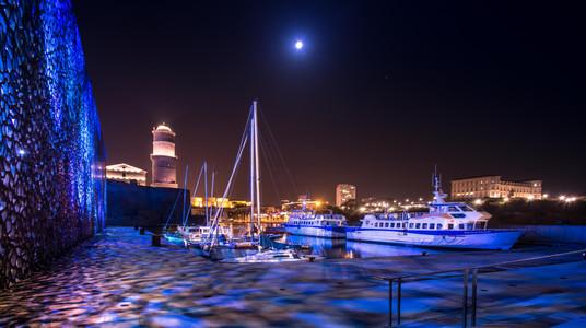 les bateaux sous la lune.jpg